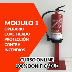 curso online modulo 1 operario cualificado extintores